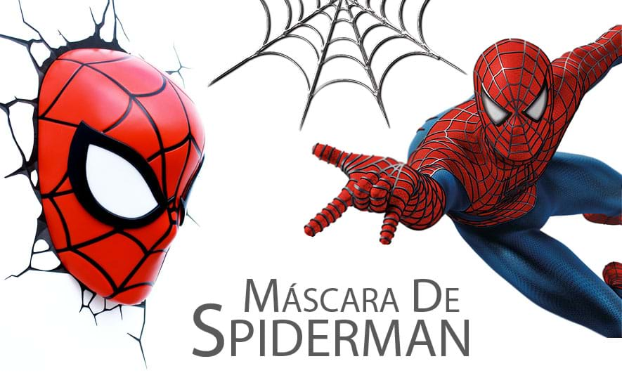 Máscara de Spiderman